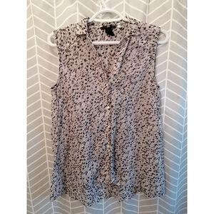 H&M Lightweight Sleeveless Blouse (Size 10)